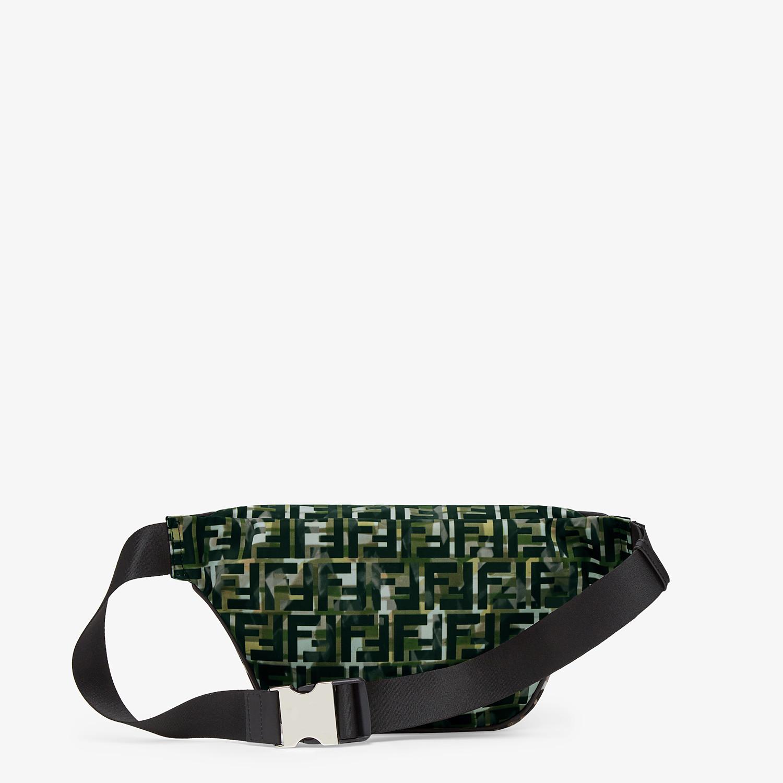 FENDI BELT BAG - Multicolor nylon belt bag - view 3 detail