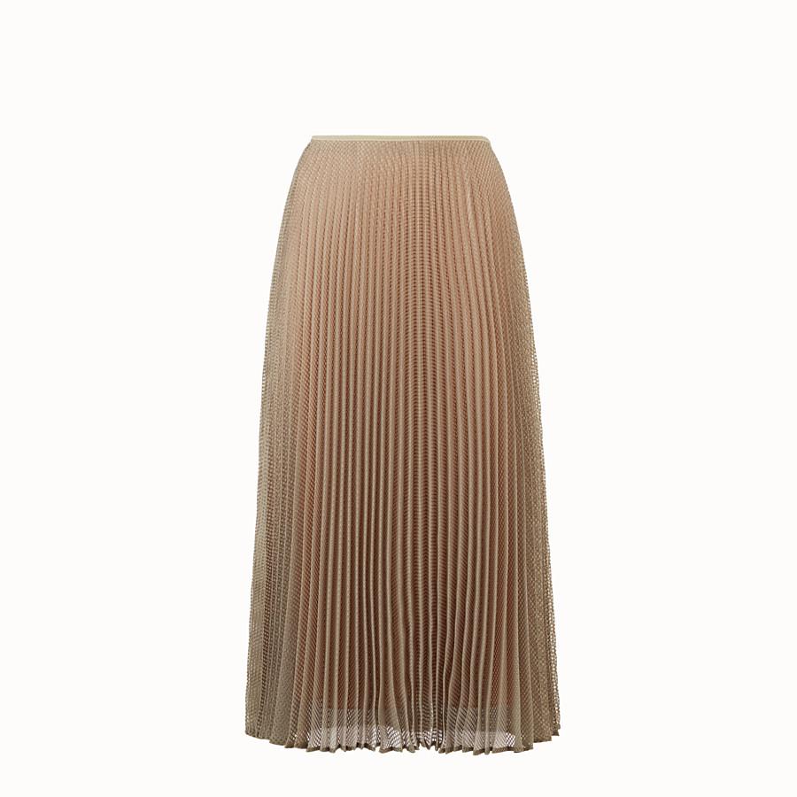 FENDI SKIRT - Green organza skirt - view 1 detail