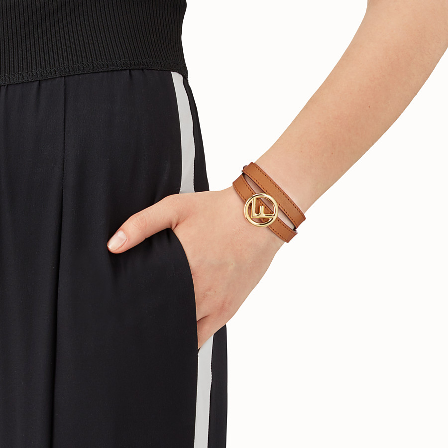FENDI F IS FENDI BRACELET - Brown bracelet - view 2 detail