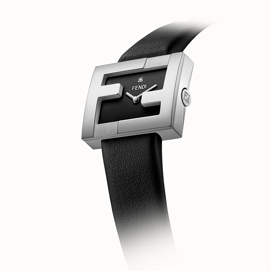 FENDI FENDIMANIA - 24 x 20 MM - Watch with FF logo bezel - view 3 detail