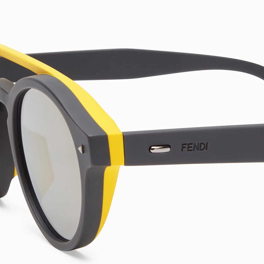 FENDI I SEE YOU - Lunettes de soleil grises - view 3 detail