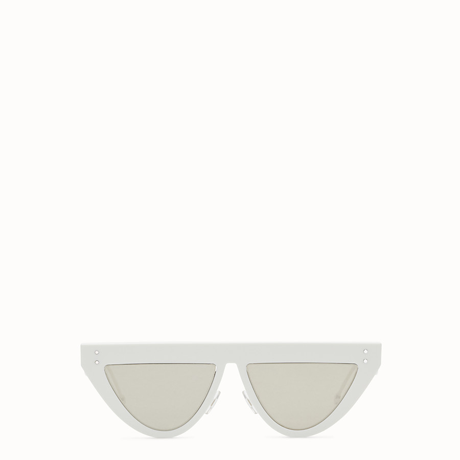 FENDI DEFENDER - White sunglasses - view 1 detail