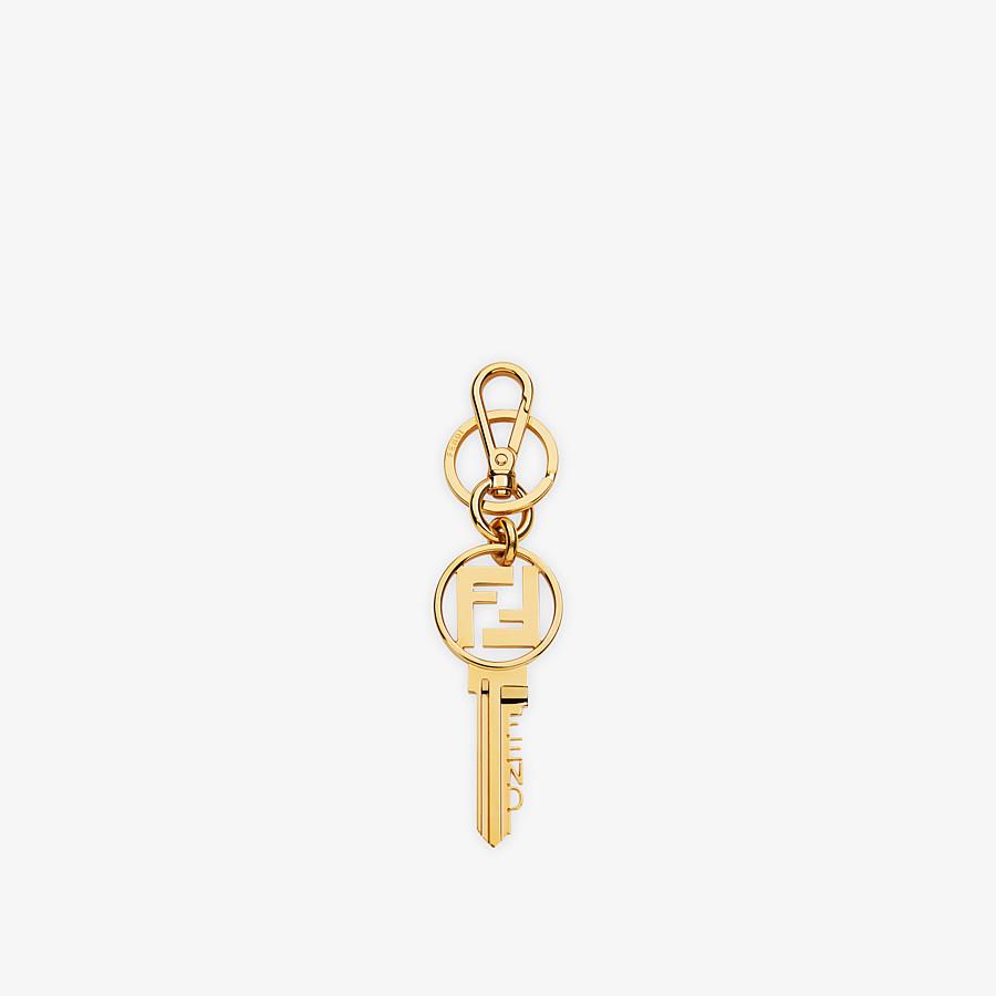 FENDI KEY RING - Gold metal key ring - view 1 detail