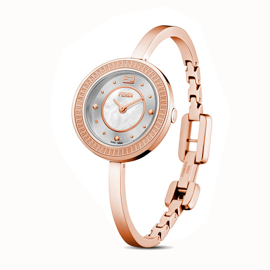 FENDI FENDI MY WAY - 28 mm - Reloj con adorno Glamy de piel - view 4 detail