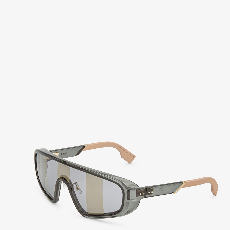 FENDI BOTANICAL FENDI - Grey sunglasses - view 2 detail