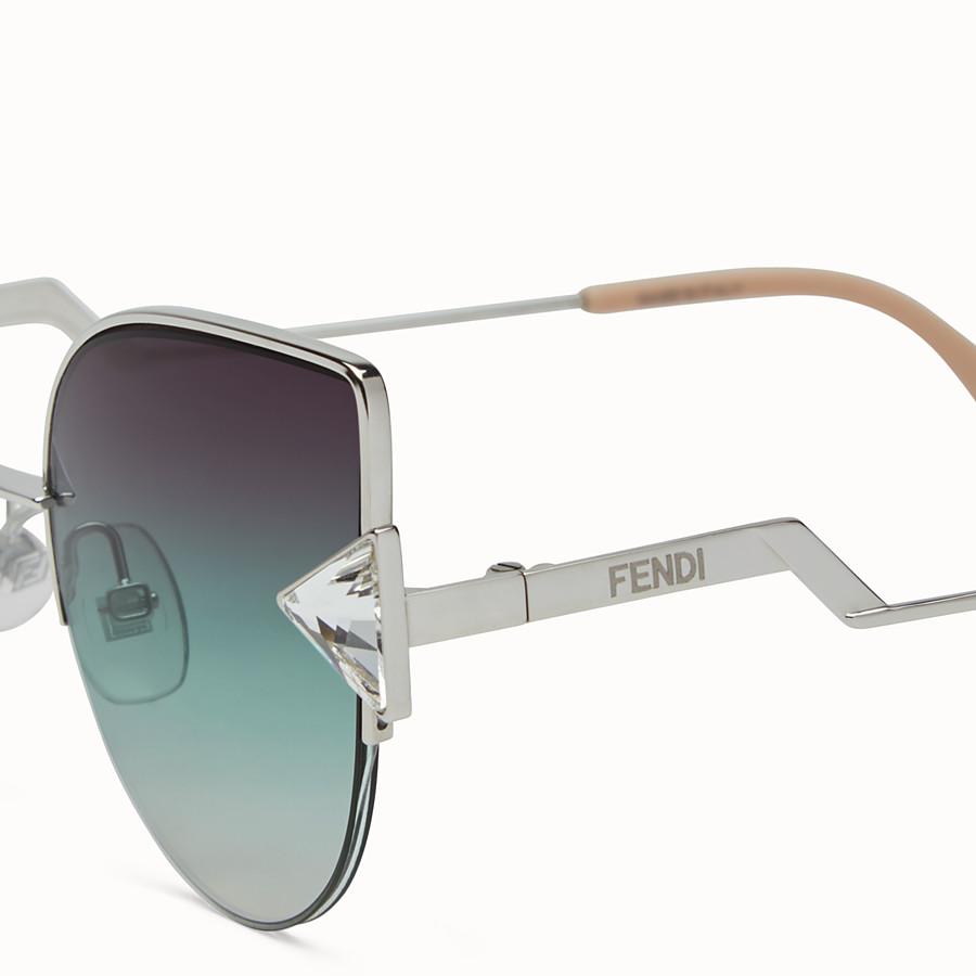 FENDI RAINBOW - Palladium sunglasses - view 3 detail