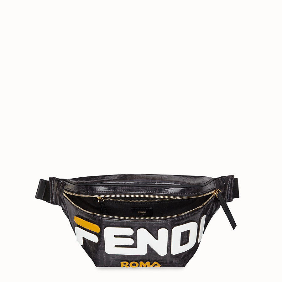 FENDI BELT BAG - Black fabric belt bag - view 4 detail