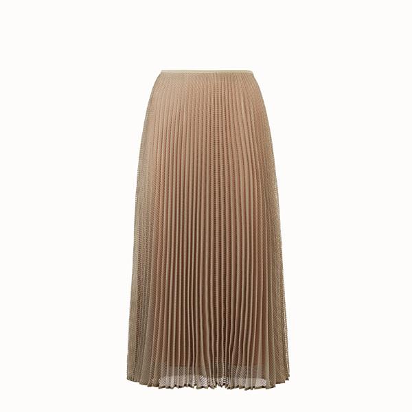 FENDI SKIRT - Green organza skirt - view 1 small thumbnail