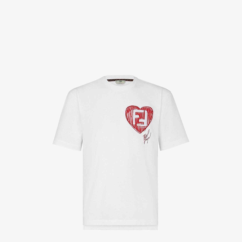 FENDI T-SHIRT - Karl Lagerfeld Limited Edition T-shirt - view 1 detail