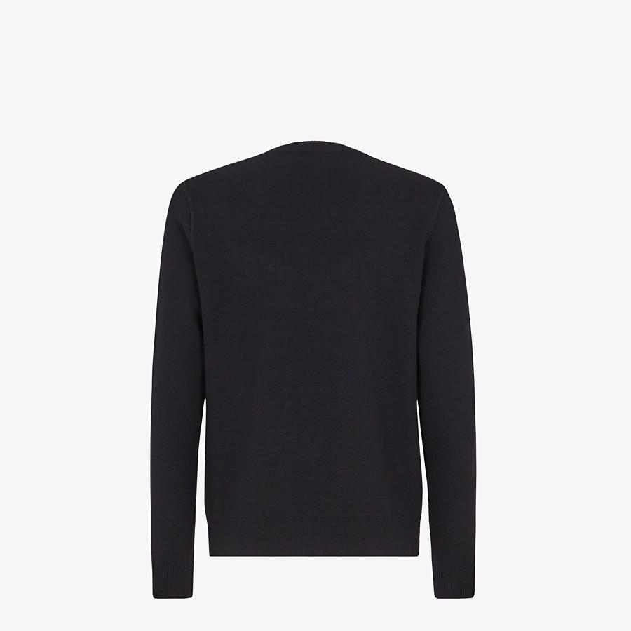 FENDI PULLOVER - Pullover aus Wolle in Schwarz - view 2 detail