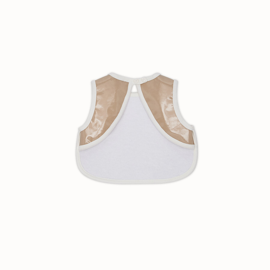 FENDI BIB - Beige cotton bib - view 2 detail
