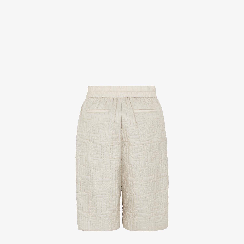 FENDI BERMUDAS - White nylon pants - view 2 detail
