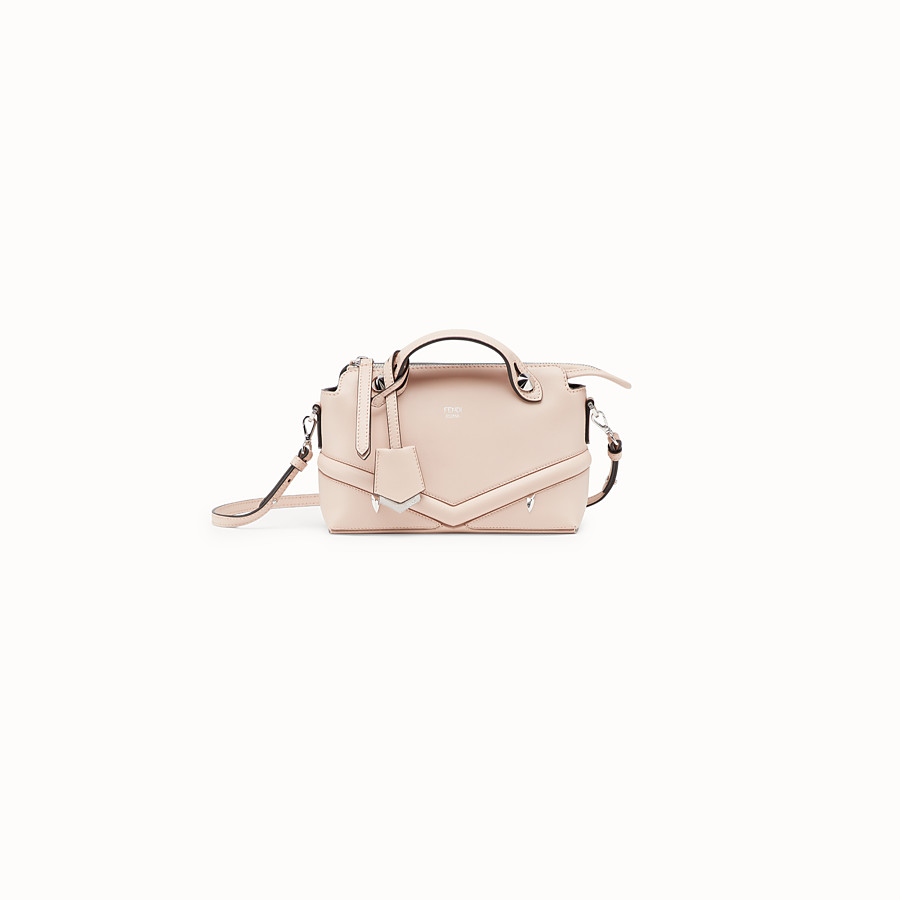 FENDI BABY BY THE WAY - Pink leather mini By The Way - view 1 detail
