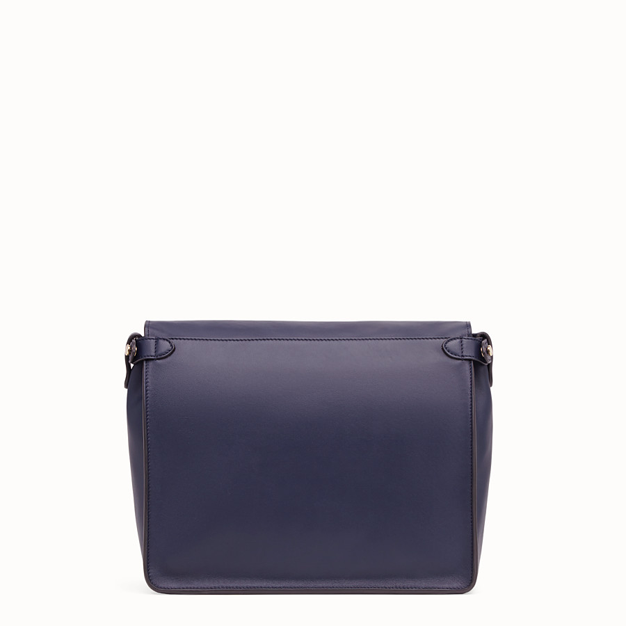 FENDI FENDI FLIP LARGE - Blue leather bag - view 5 detail