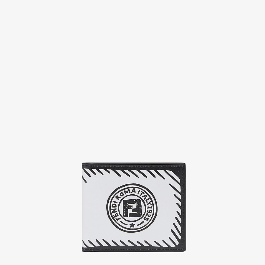 FENDI 財布 - FENDI ROMA ジョシュア・ヴィーダス レザー 二つ折り財布 - view 1 detail