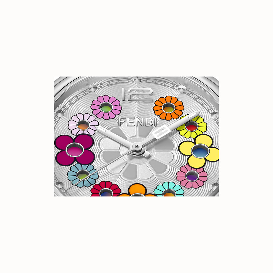 FENDI MOMENTO FENDI - 34 mm - Watch with flowers and strap - view 3 detail