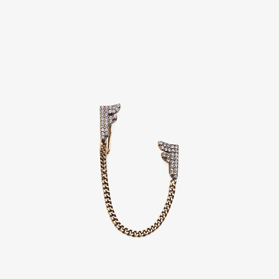 FENDI FFREEDOM EARRINGS - Gold-colour earring - view 1 detail