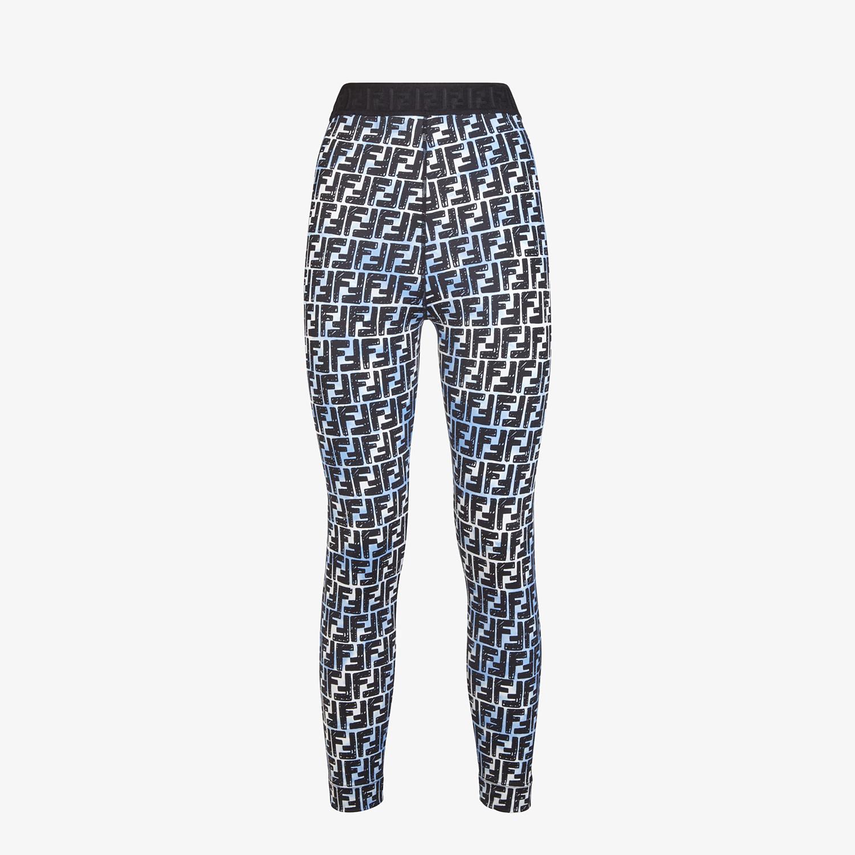 FENDI LEGGINGS - Fendi Roma Joshua Vides tech fabric leggings - view 1 detail