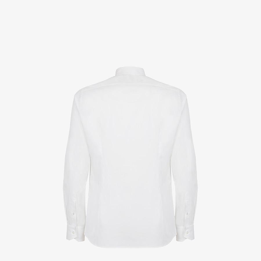 FENDI BLUSE - Hemd aus Baumwolle in Weiß - view 2 detail