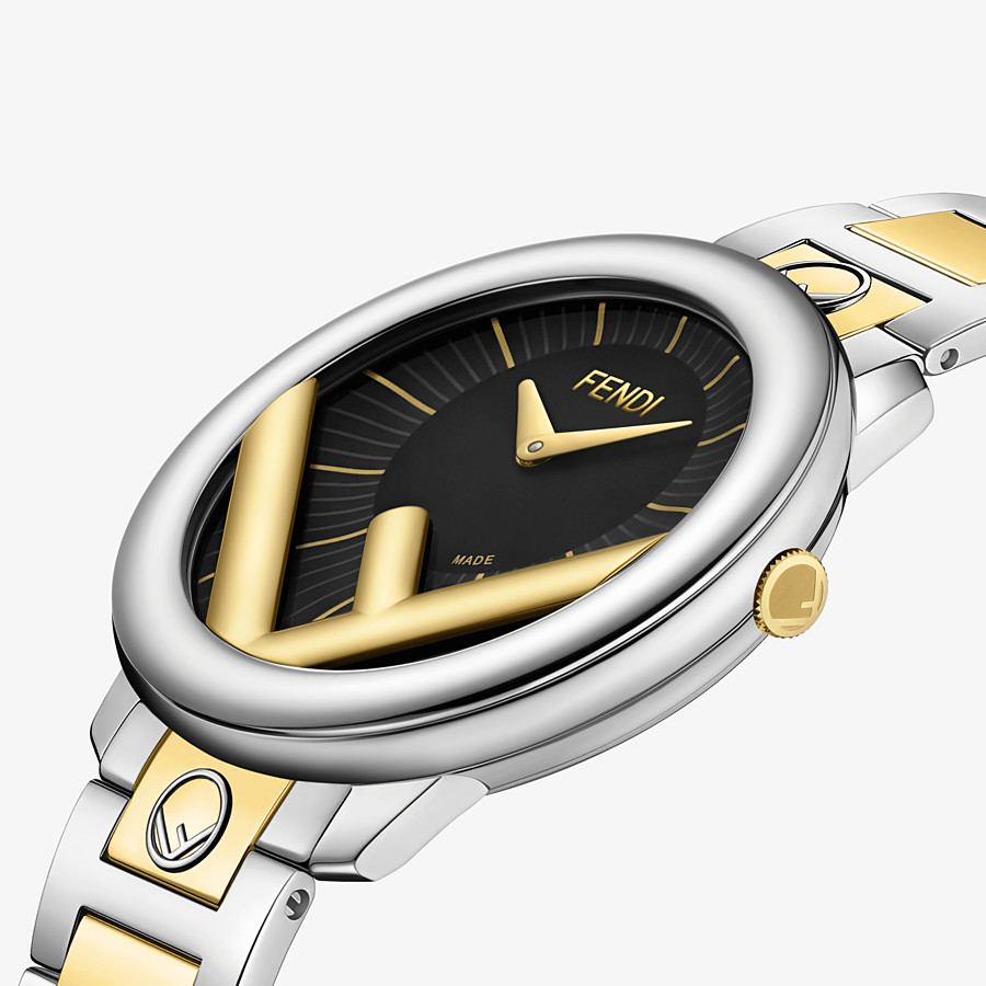 FENDI RUN AWAY - 36 mm (1.4 inch) - Watch with F is Fendi logo - view 3 detail