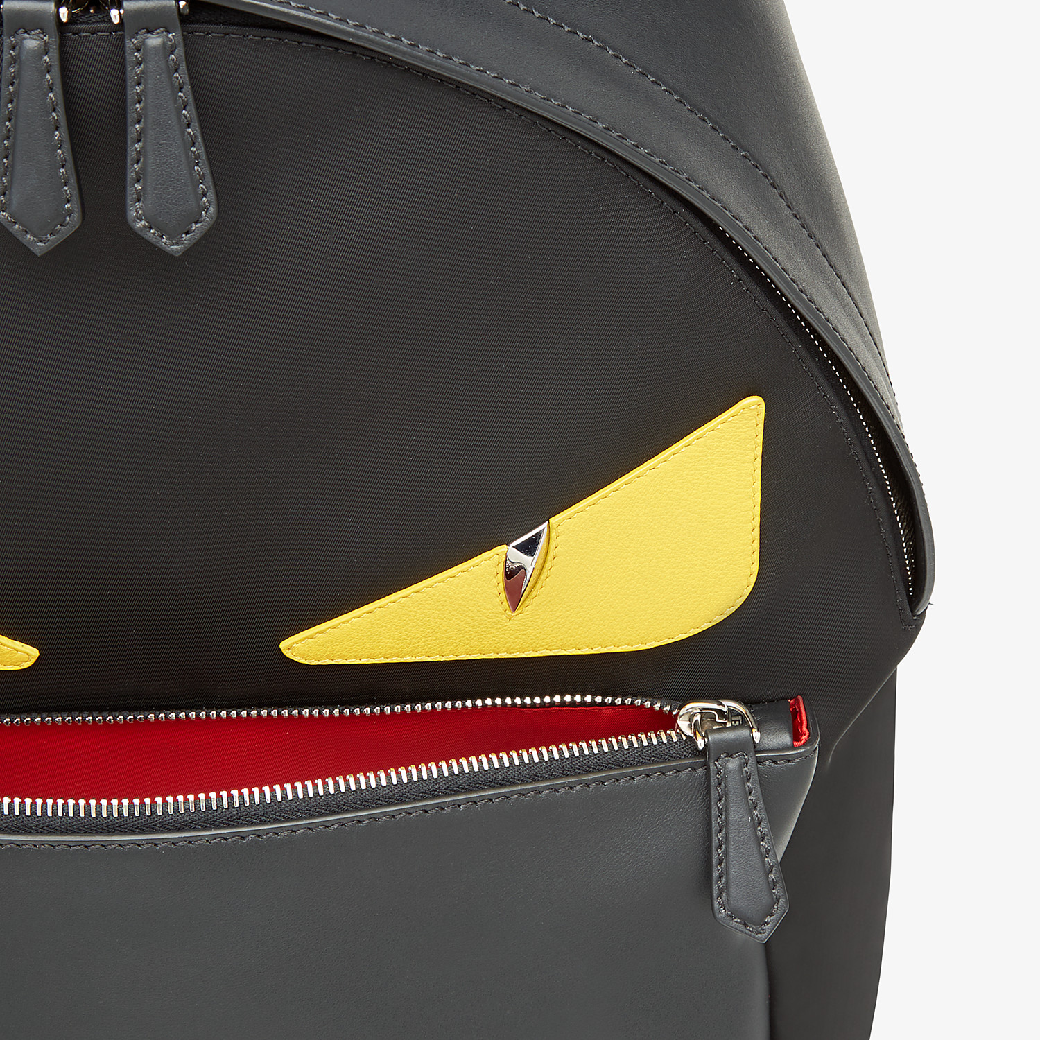 FENDI BACKPACK - Backpack in black nylon - view 4 detail