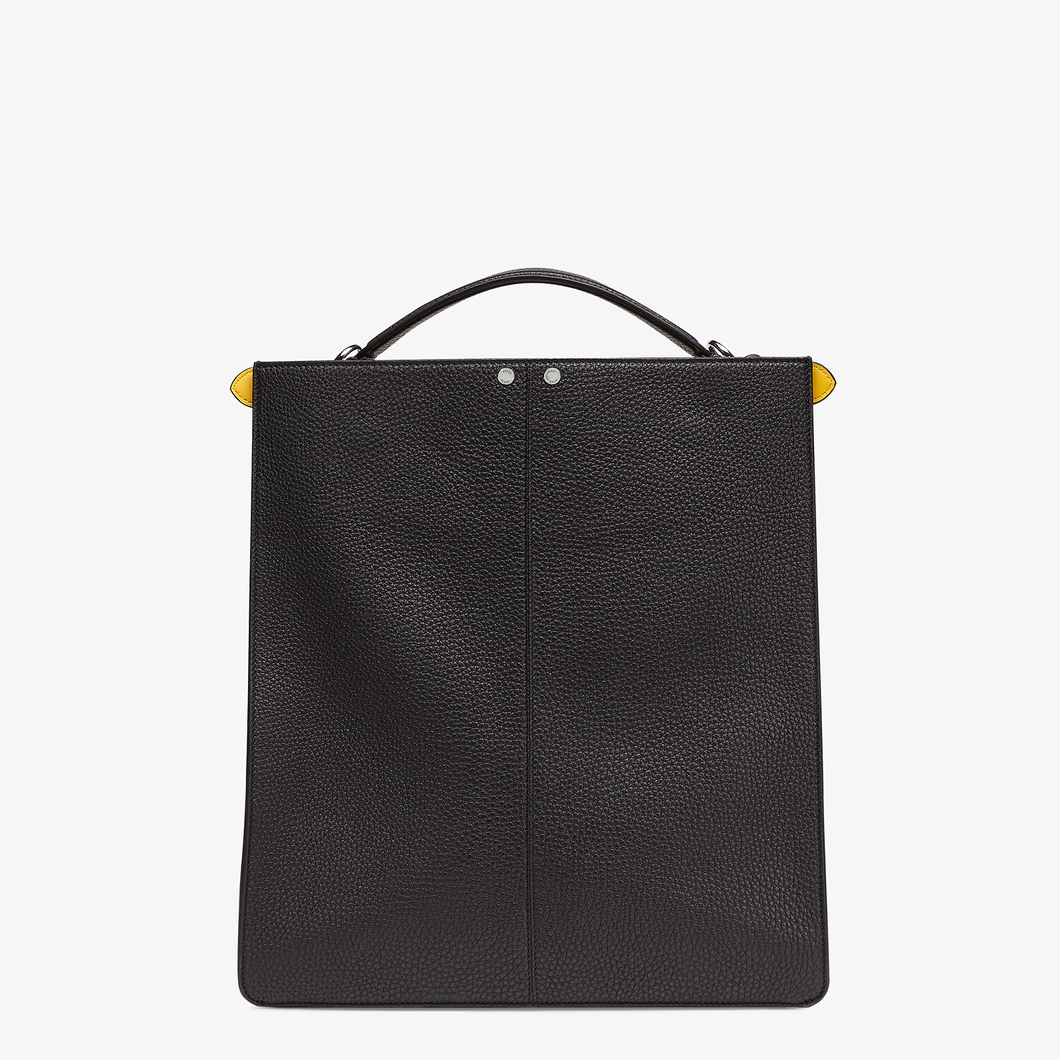 FENDI PEEKABOO ISEEU TOTE - Black leather bag - view 5 detail