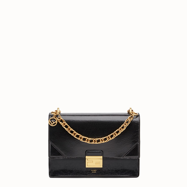 FENDI KAN U - Black leather bag - view 1 small thumbnail