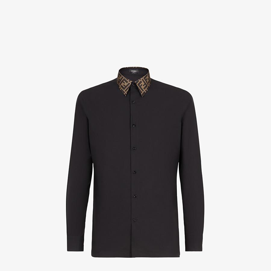 FENDI HEMD - Hemd aus Baumwolle in Schwarz - view 1 detail