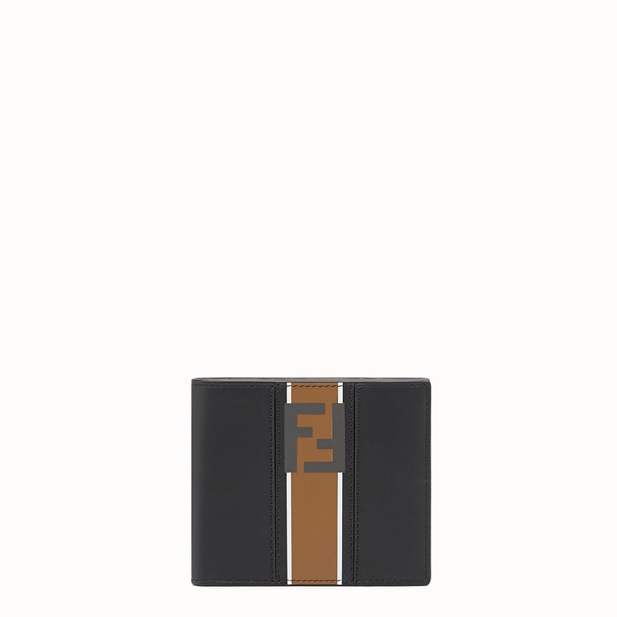 FENDI WALLET - 블랙 컬러의 가죽 반지갑 - view 1 detail