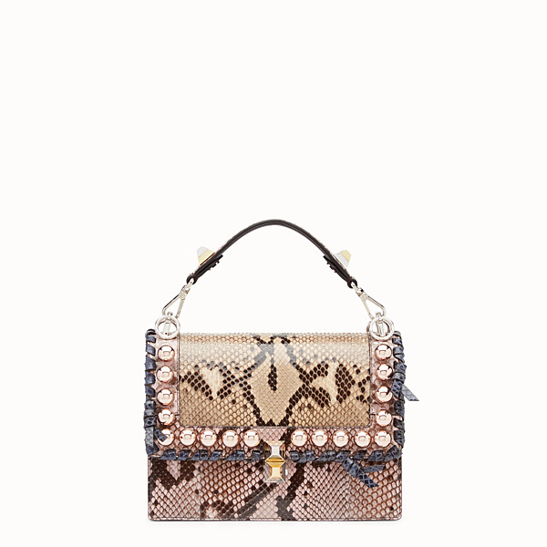 FENDI KAN I - Multicolour python bag - view 1 small thumbnail