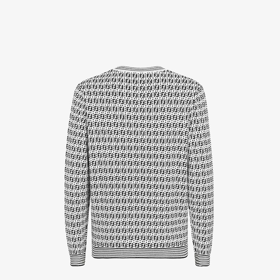 FENDI SWEATER - Multicolor viscose sweater - view 2 detail