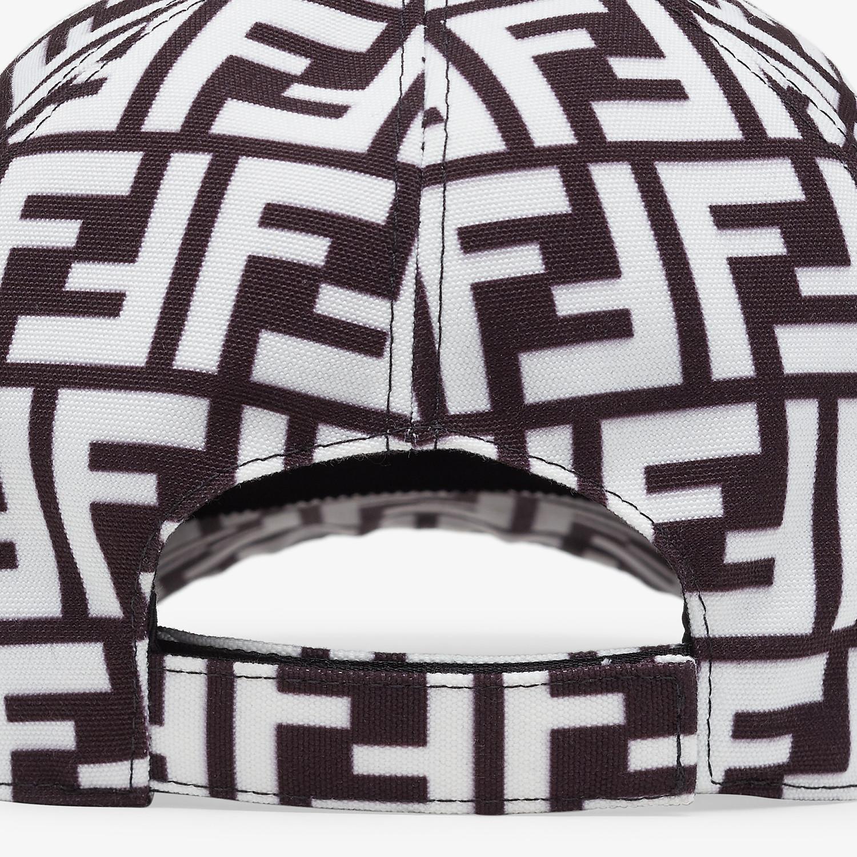 FENDI HAT - Multicolor fabric baseball cap - view 2 detail