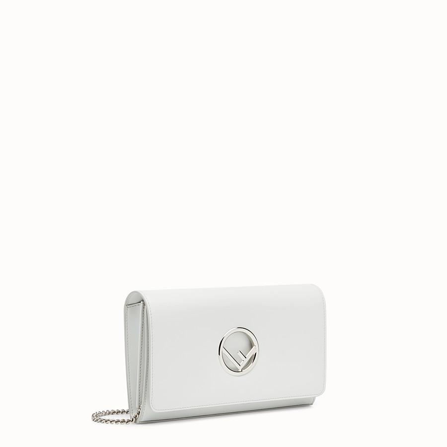 FENDI 체인 지갑 - 화이트 컬러의 가죽 미니 백 - view 2 detail