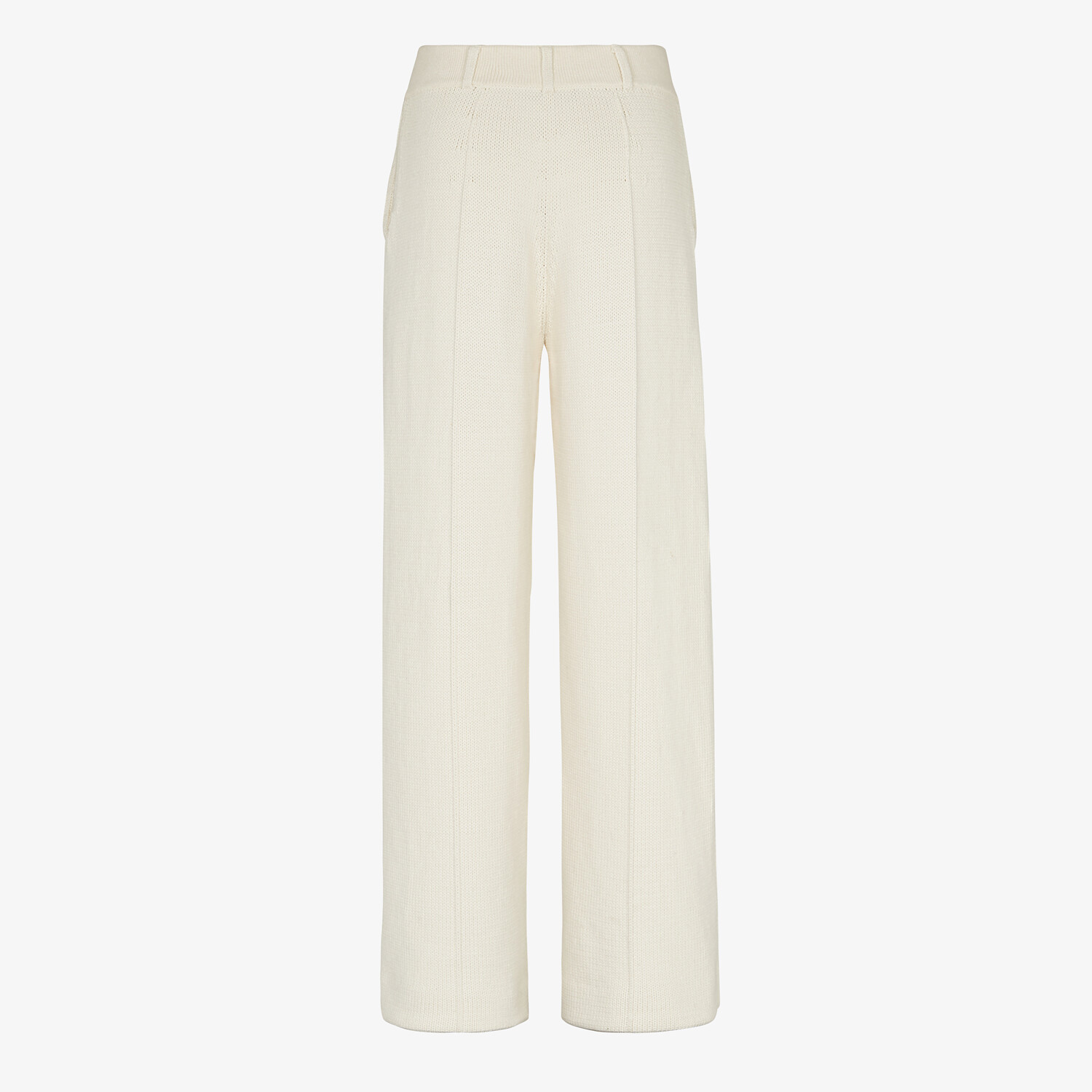 FENDI PANTS - White cotton pants - view 2 detail