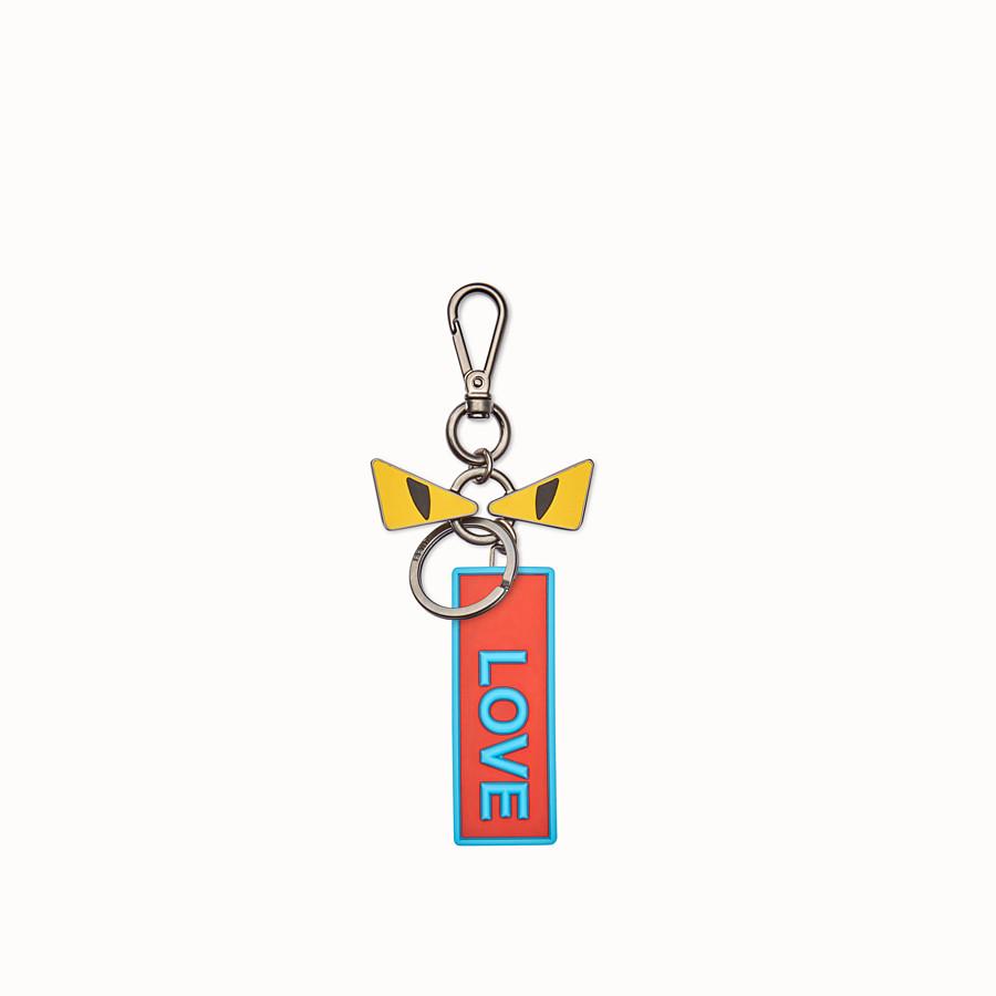 FENDI 手袋吊飾 - 裝飾眼睛和飾牌的鑰匙圈 - view 2 detail
