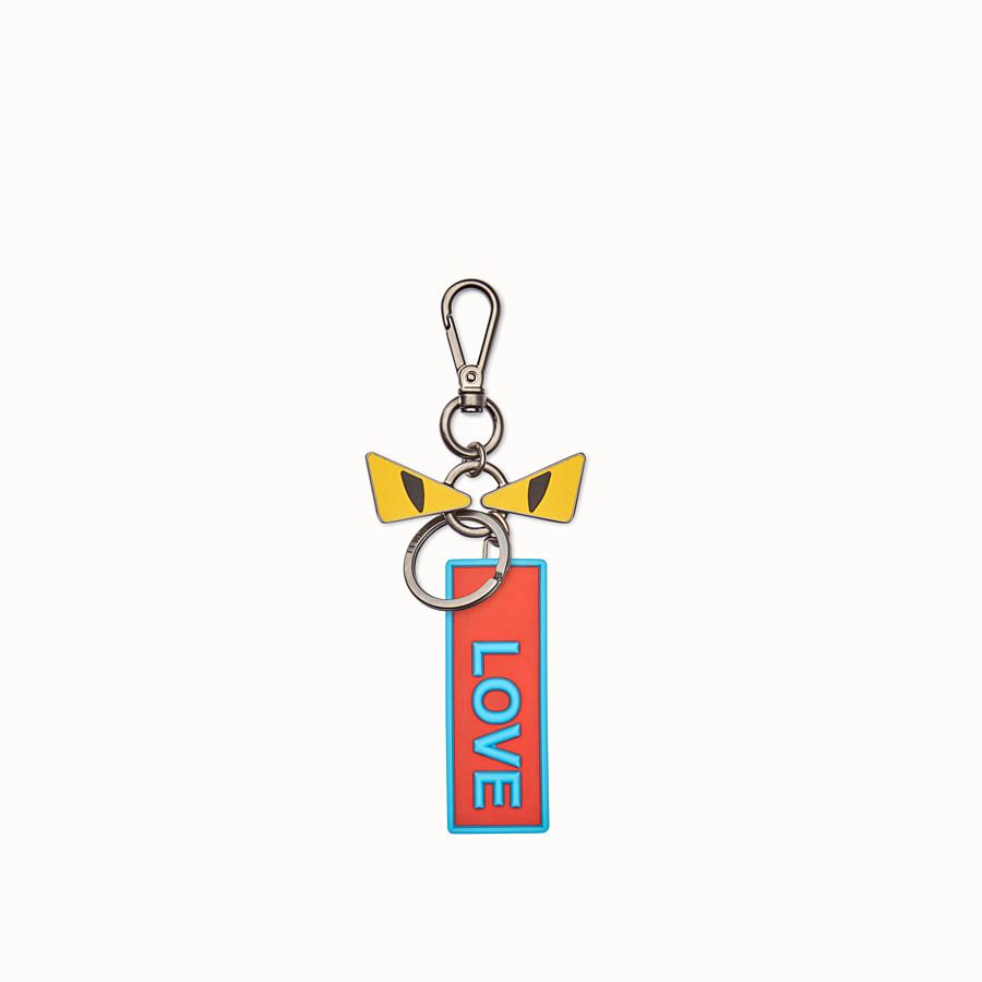 FENDI BAG CHARM - Keyring with eyes and tag - view 2 detail