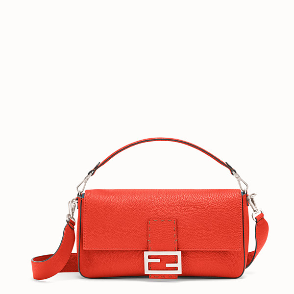 FENDI BAGUETTE LARGE - Fendi Roma Amor leather bag - view 1 small thumbnail