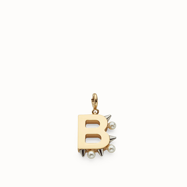 FENDI ABCHIC B - Charm with pearls and studs - view 1 small thumbnail