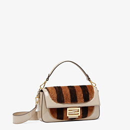 FENDI BAGUETTE - Multicolour, patent leather and sheepskin bag - view 3 thumbnail