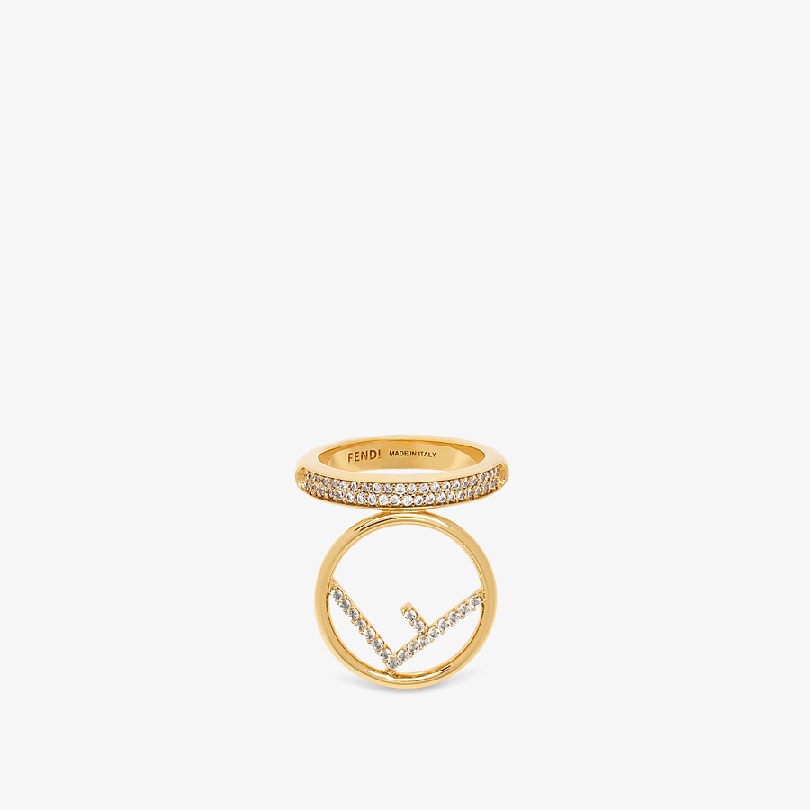 FENDI F IS FENDI RING - Gold-colored ring - view 1 detail