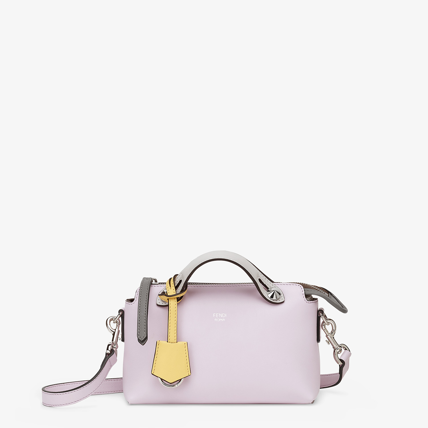 FENDI BY THE WAY MINI - Multicolor leather Boston bag - view 1 detail