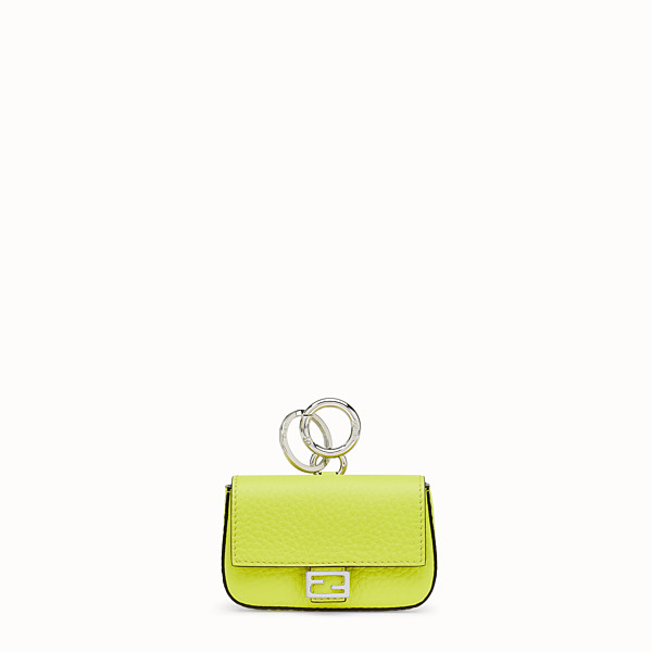 FENDI NANO BAGUETTE CHARM - Fendi Roma Amor leather charm - view 1 small thumbnail