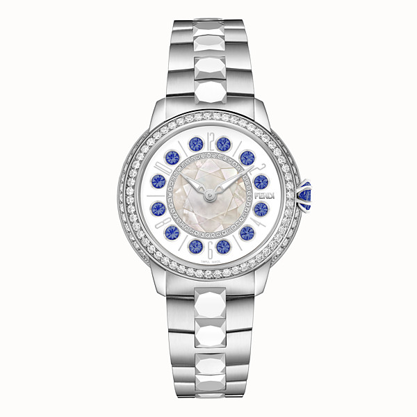 FENDI FENDI ISHINE - 38 MM - Watch with diamonds and rotating precious stones - view 1 small thumbnail