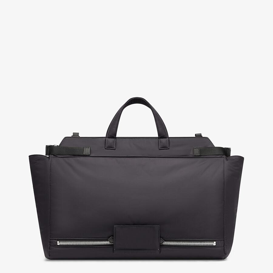 FENDI PEEKABOO ICONIC MEDIUM - Black nylon bag - view 3 detail