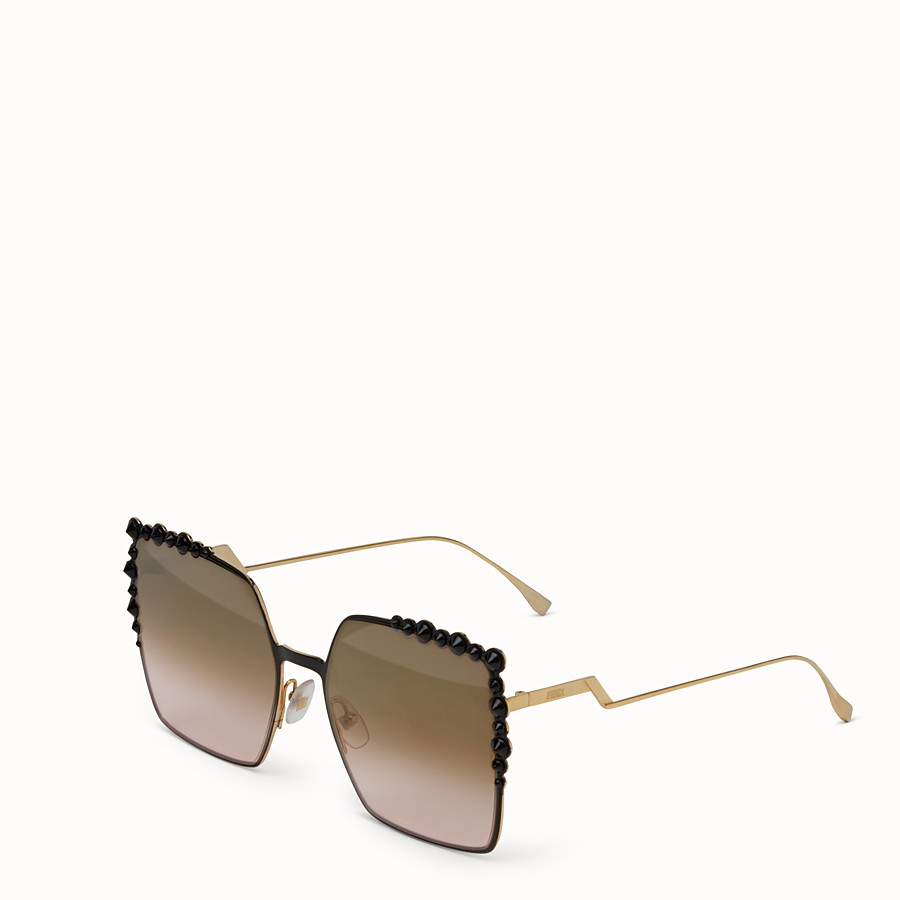 FENDI CAN EYE - Two-tone sunglasses - view 2 detail