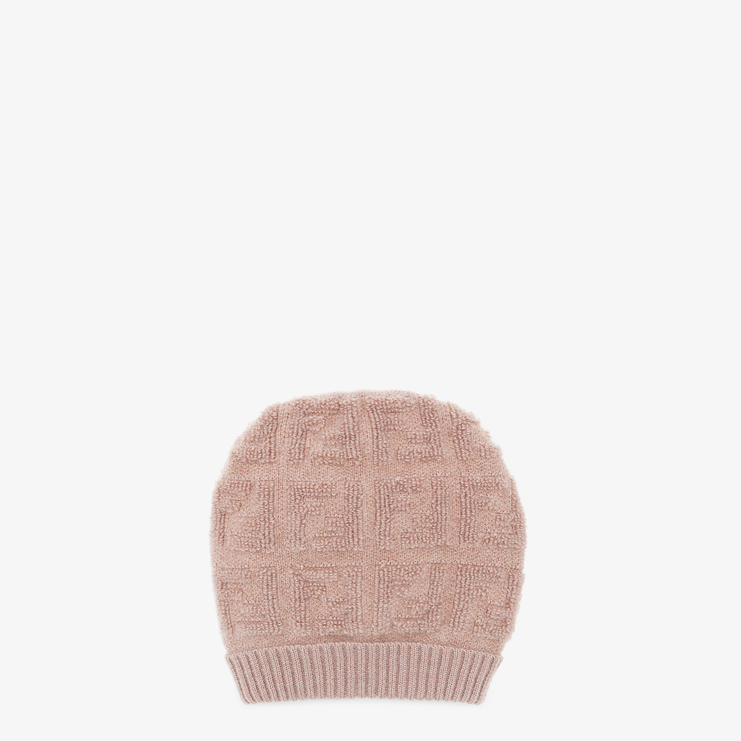 FENDI HAT - Beige knit hat - view 1 detail