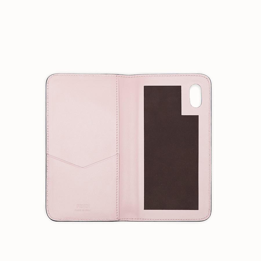 FENDI iPHONE X CASE - Multicolor flip-cover case - view 2 detail