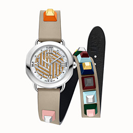 FENDI SELLERIA STRAP YOU - Wechselbares, doppelt geschlungenes Armband - view 2 thumbnail