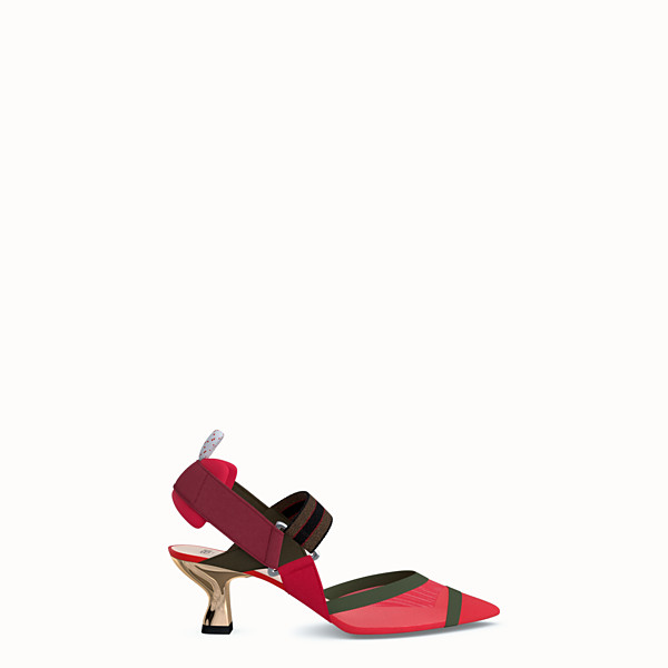 FENDI PUMPS - Customizable slingback - view 1 small thumbnail