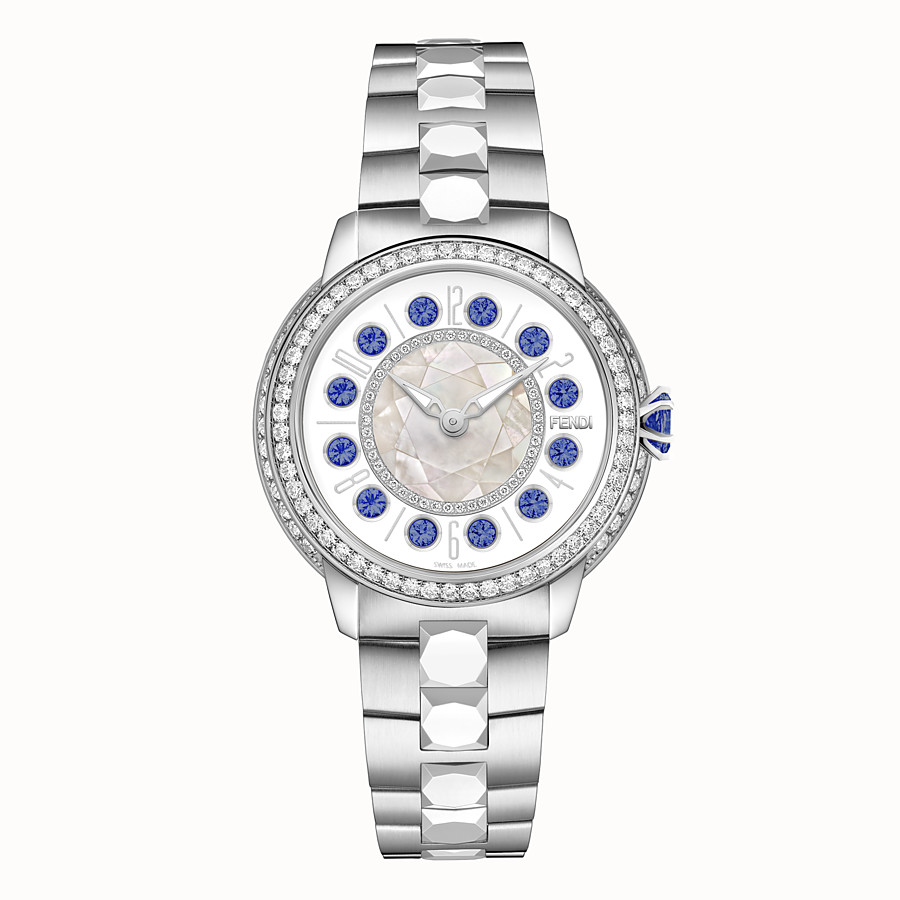 FENDI FENDI ISHINE - 38 MM - Watch with diamonds and rotating precious stones - view 1 detail